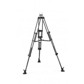 Tríp. video patas dobles. Para semiesfera 100/75 Carbono. Est. media altura - MVTTWINMC - Manfrotto - Trípodes MANFROTTO
