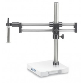 Stereomicroscope stand (Universal) Ball bearing double arm: with clamp