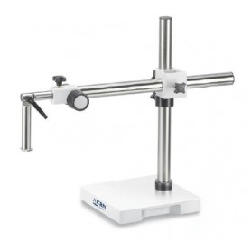Stereomicroscope stand (Universal) Ball bearing double arm: with screws