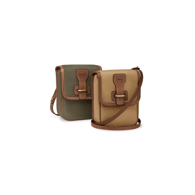 Bolsa ANEAS para binoculares Leica 42mm. Color marrón