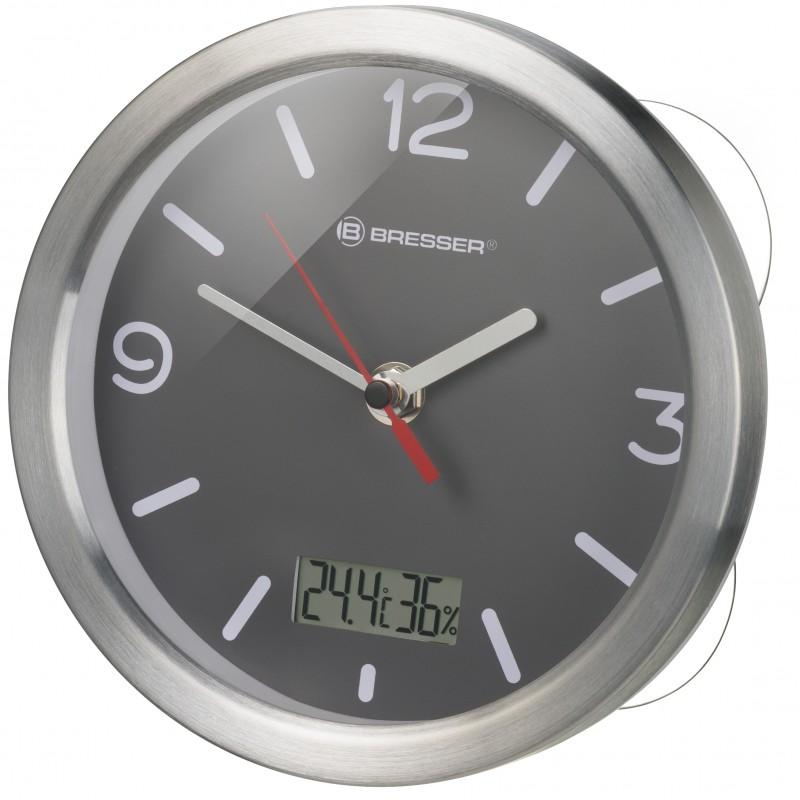 Reloj de Baño BRESSER MyTime Termo/Higro - gris 8020116 ...